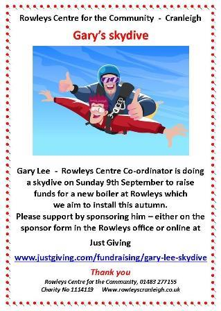 Gary skydive flyer
